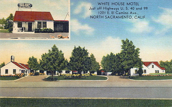 U S Route 40 Cottages Motor Courts And Motels California