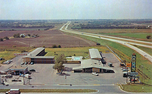 U S Route 40 Cottages Motor Courts And Motels Kansas