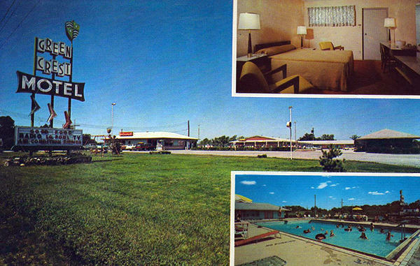 U S Route 40 Cottages Motor Courts And Motels Missouri
