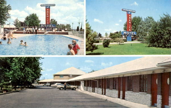 U S Route 40 Cottages Motor Courts And Motels Ohio